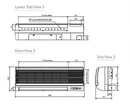 Mitsubishi Electric Air Conditioning Heat Pump Inverter Mr